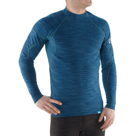 NRS HydroSkin 0.5 Longsleeve Shirt Heren, moroccan blue